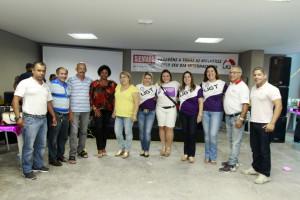 Representantes da UGT participam da festa em homenagem as mulheres