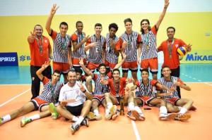 Equipe Sulsancaetanense vence por 3 sets a 0 a equipe do selecionado do Paraná.