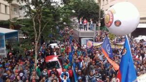 Sintrascon-SP alega que os empresários da Construção Civil não ofereceram 'sequer a reposição da inflação' do último ano no ajuste salarial. Foto: Francisco Lima