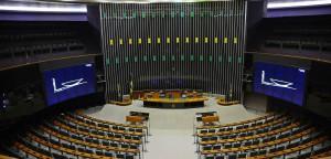 Brasília - Corredores do Congresso Nacional vazio, sinal verde para parlamentares entrarem em recesso (Antonio Cruz/Agência Brasil)